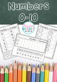 Numbers 0-10 Worksheets