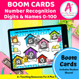 Numbers 0-100 BOOM Cards For Distance Learning