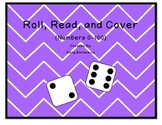 Number Identification Game (Roll, Read, and Cover)