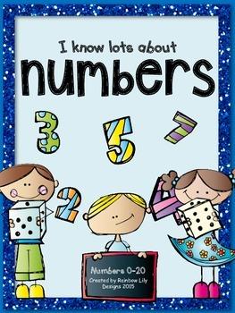 Numbers 0-20 worksheets