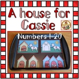 Numbers Recognition 0 -20  - A House for Cassie Workstation