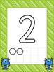 Numbers 0-20 BUNDLE Playdough Mat, Worksheets, Counting Mat, and More