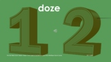 Numbers 0-20 Brazilian Portuguese