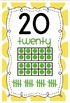 Polka Dot Numbers 0-20 Classroom Display with Ten Frames A