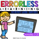 Numbers 0-20 Errorless Learning Adapted Work Binder®