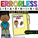 Numbers 0-20 Errorless Learning File Folder Activities [21