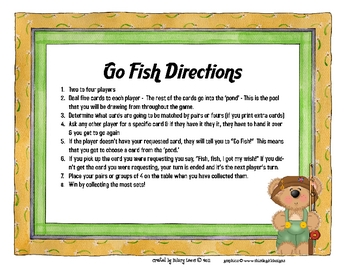 Numbers 0-20 - Goin' Fishin' Game