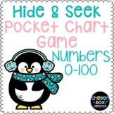 Numbers 0-50 Hide and Seek Pocket Chart Game - Penguins