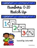 Numbers 0-20 Match Up