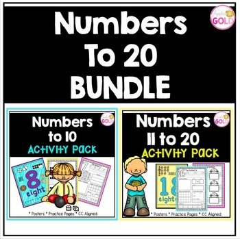 Numbers 0-20 Activities (Bundle)
