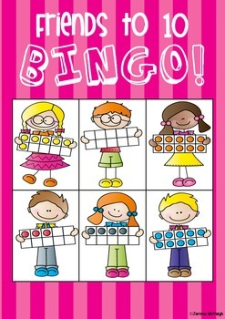Numbers 0 - 20 Math Centre BINGO Cards ~ Miss Mac Attack ~