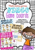 Numbers 0 - 20 Math Centre BINGO Cards ~ Miss Mac Attack ~
