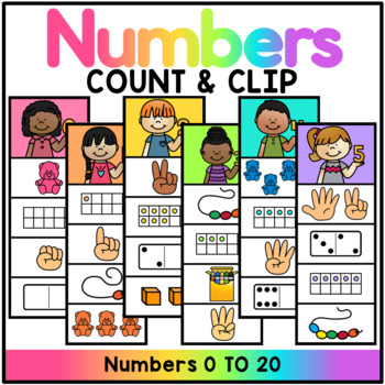 Numbers 0-20 Math Station