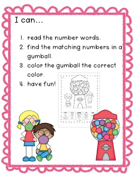 Numbers 0-20 Math Stations