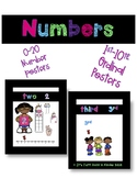 Numbers 0-20 & Ordinal Numbers to 10