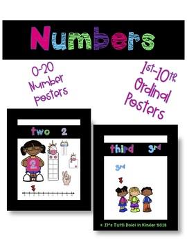 Numbers 0-20 & Ordinal Numbers to 10