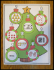 Numbers Sense Activity 0-20 Christmas Ornaments