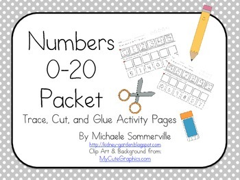 Numbers 0-20 Pack