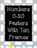 Numbers 0-20 Posters