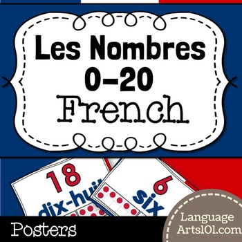 Numbers 0-20 Posters French | Affiches Nombres 0-20 Français