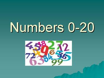 Numbers 0-20 Power Point