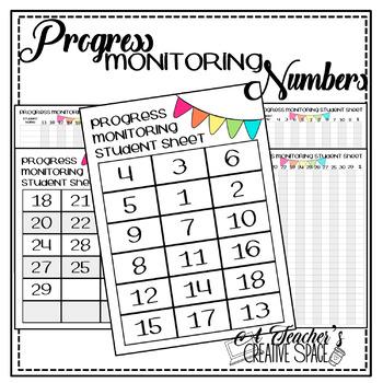 Progress Monitoring Numbers 0-30