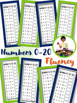Numbers 0-20 Quick Addition