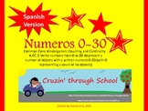 Numbers 0-20 SPANISH VERSION Aligned to Common Core *Bonus 21-30 included*