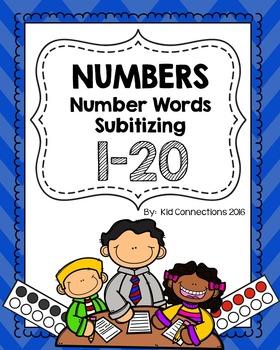 Numbers 0-20 Subitizing