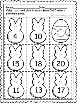 Easter Peeps Sequencing