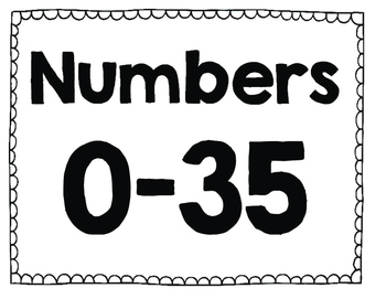 Numbers 0-35