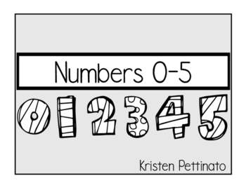 Numbers 0-5