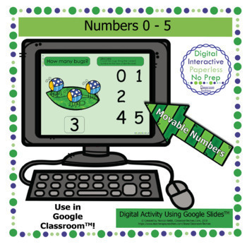 Google Slides - Numbers 0 to 5