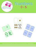 Numbers 0-5 (Extended) - (Playing Cards, Fun Games, Flash