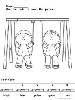 Numbers 0-5 Math Activities