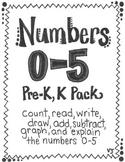 Numbers 0-5 Pack