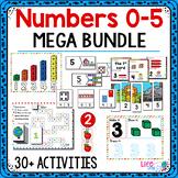 Numbers 0-5 | Pre-K/Preschool Math Centers