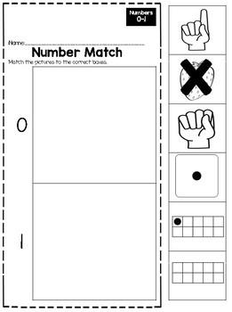 Numbers 0-5 Sampler