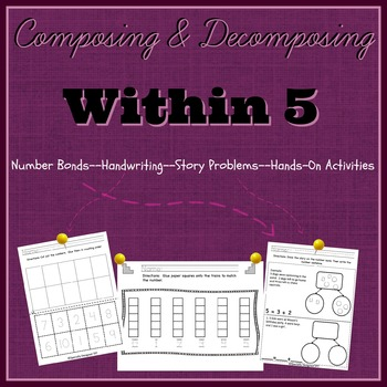 Composing/Decomposing Numbers 0 to 5