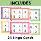 Numbers 0 to 10 Bingo