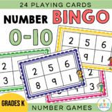 Number Bingo 0 to 10