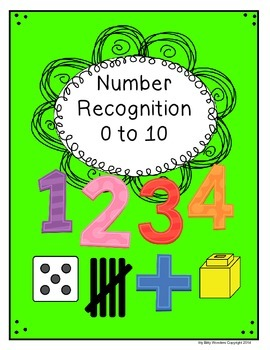 Numbers - 0 to 10 Recognition