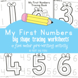 Numbers 0 to 10 Tracing Pages