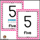 Numbers Cards 0 to 20~ Chevron Themed