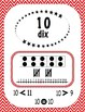 Numbers 0 to 20 - Number Posters - French - Chevron Multi.