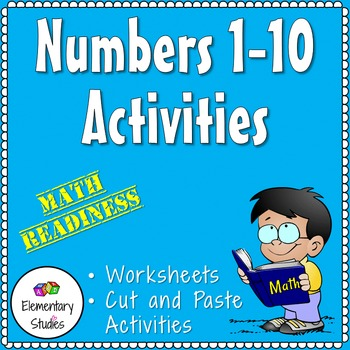 Numbers 1-10 Activities by ElementaryStudies | Teachers Pay Teachers