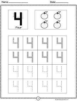 Numbers 1-10 Activities | Distance Learning