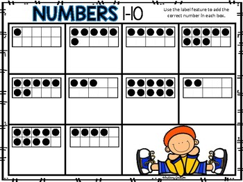 Numbers 1-10 Activities using Technology