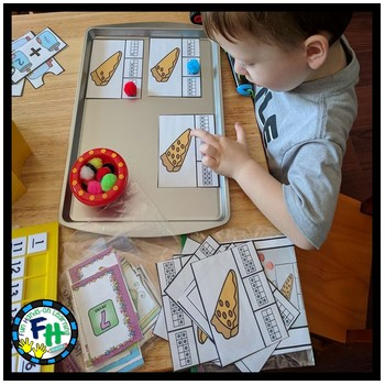 Numbers 1-10 Activity Centers Pack {6 Centers}