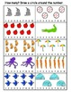 Numbers 1-10 Activity Worksheets